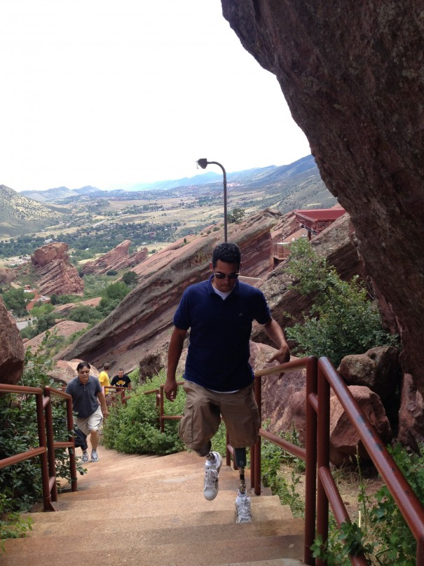 Stairs at Red Rocks Amphitheatre